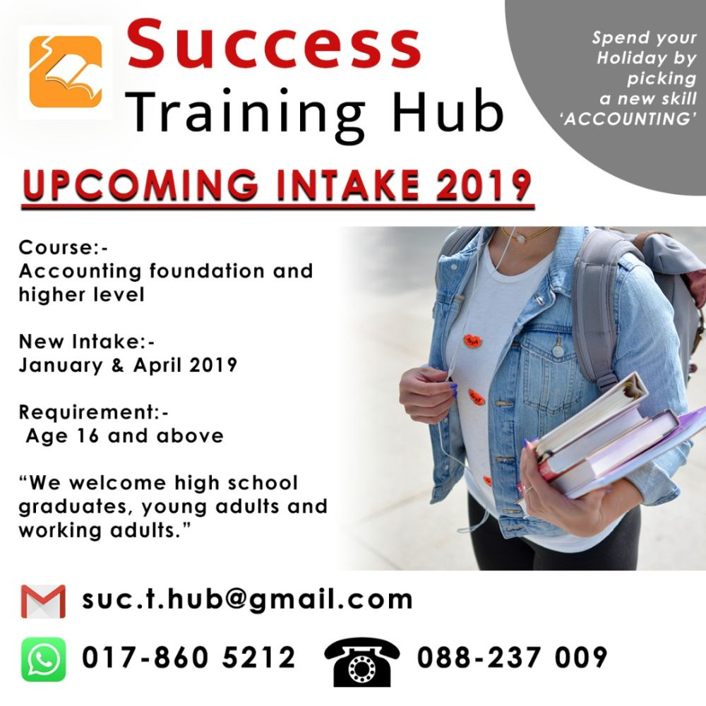 Success Training Hub - Accounting for Beginners Training Class